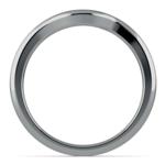 Swirl Style Wedding Ring in Palladium | Thumbnail 03