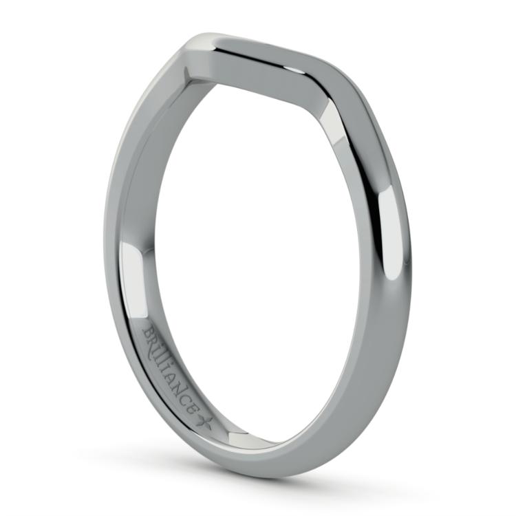 Swirl Style Wedding Ring in Palladium | 05