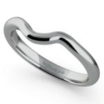 Swirl Style Wedding Ring in Platinum | Thumbnail 01