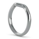Swirl Style Wedding Ring in Platinum | Thumbnail 05