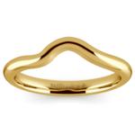 Swirl Style Wedding Ring in Yellow Gold | Thumbnail 02