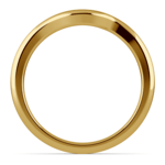 Swirl Style Wedding Ring in Yellow Gold | Thumbnail 03