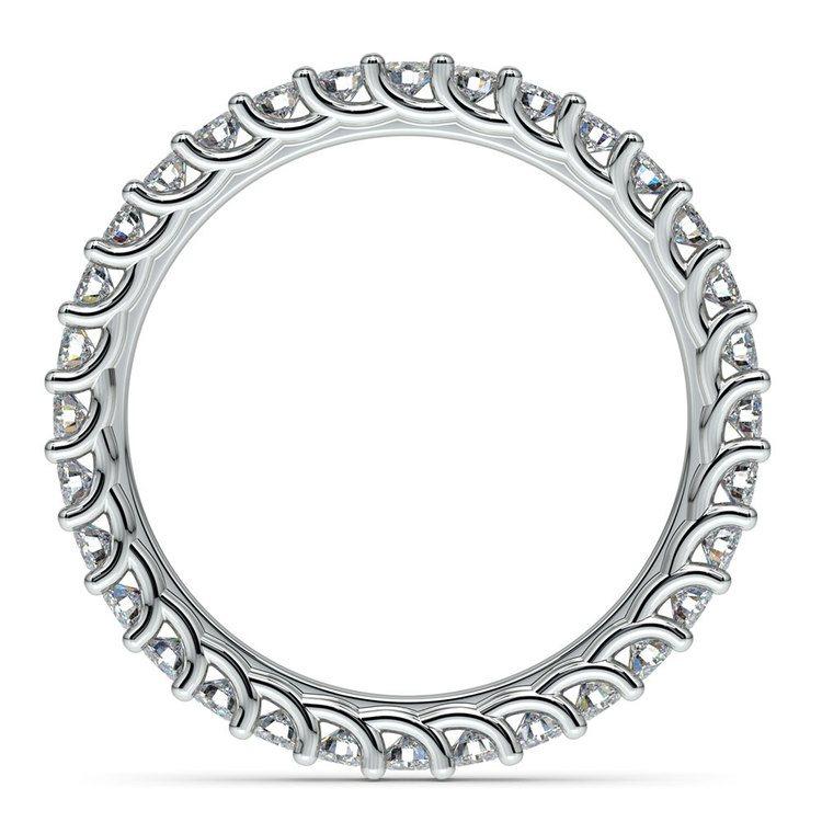 Trellis Diamond Eternity Ring in Platinum | 03