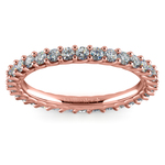 Trellis Diamond Eternity Ring in Rose Gold | Thumbnail 02