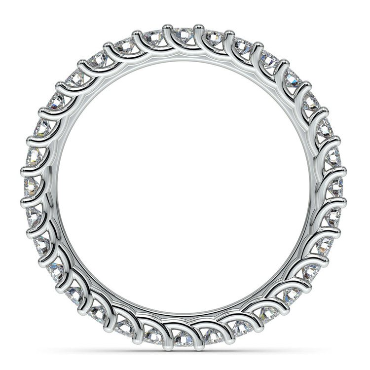 Trellis Diamond Eternity Ring in White Gold | 03