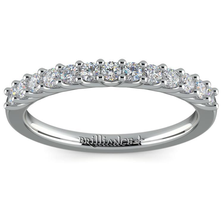 Trellis Diamond Wedding Ring in Platinum | 02