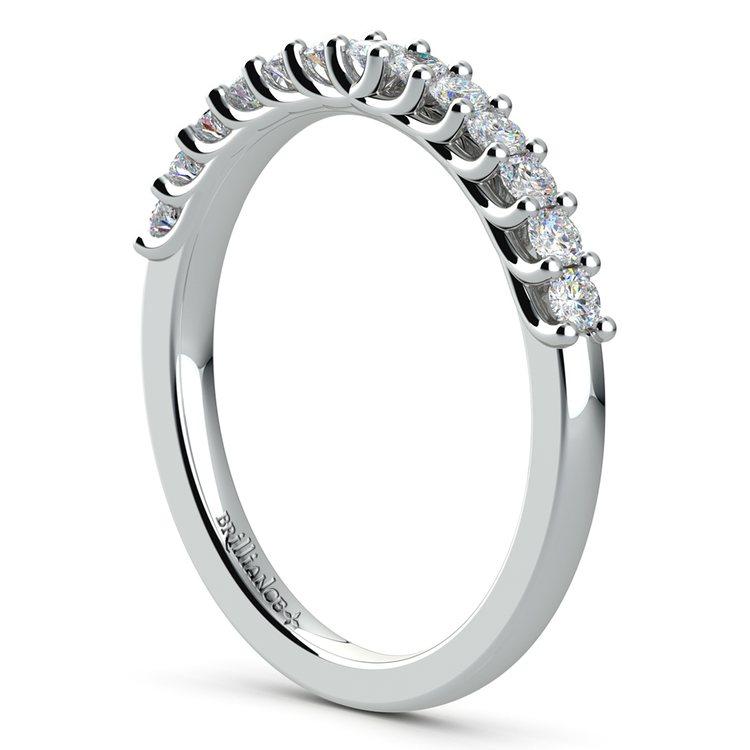 Trellis Diamond Wedding Ring in Platinum | 04
