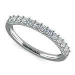 Trellis Diamond Wedding Ring in White Gold | Thumbnail 01