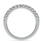 Trellis Diamond Wedding Ring in White Gold | Thumbnail 03