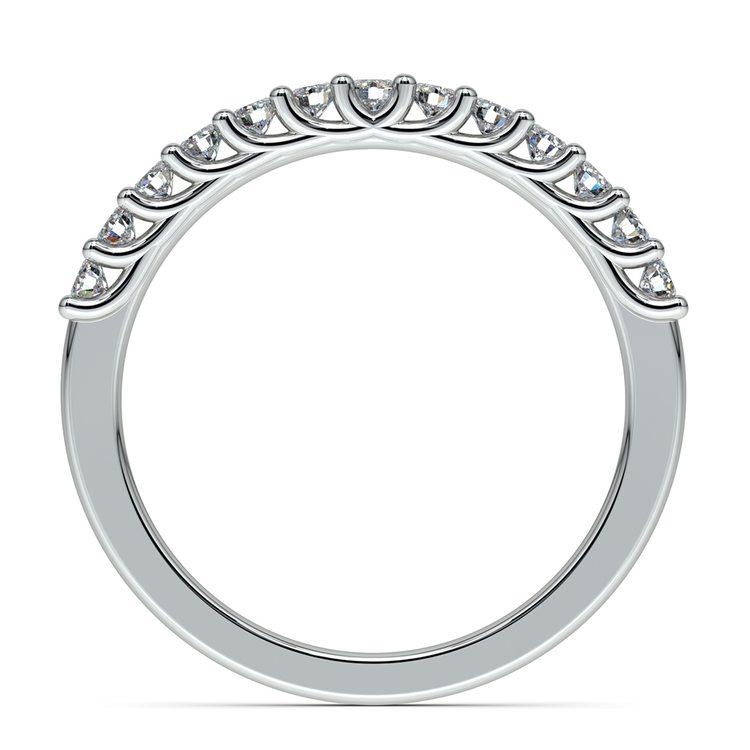 Trellis Diamond Wedding Ring in White Gold | 03