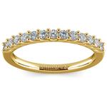 Trellis Diamond Wedding Ring in Yellow Gold | Thumbnail 02