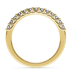 Trellis Diamond Wedding Ring in Yellow Gold | Thumbnail 03