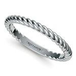 Twisted Rope Wedding Ring in Platinum | Thumbnail 01