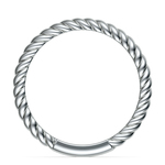 Twisted Rope Wedding Ring in Platinum | Thumbnail 03