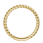 Twisted Rope Wedding Ring in Yellow Gold   Thumbnail 03