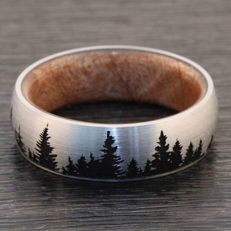 The Woodsman - Pine Tree Cobalt Mens Band | 07