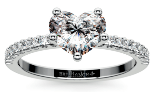 Cut Of Heart Shaped Diamond. Scallop Diamond Engagement Ring White Gold.png
