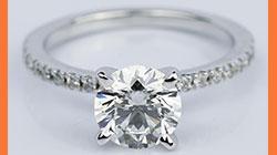 1.38 Carat Round Brilliant Diamond