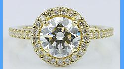 1.71 Carat Round Brilliant Diamond
