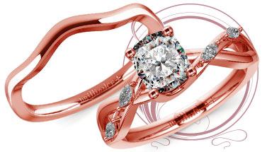 Florida Ivy Engagement Ring