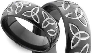 Trinity Knot Wedding Band