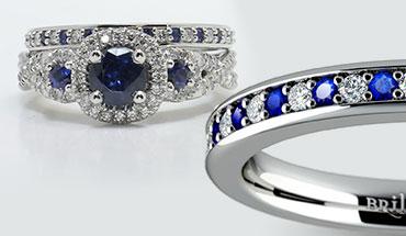 Sapphire & Diamond Combination