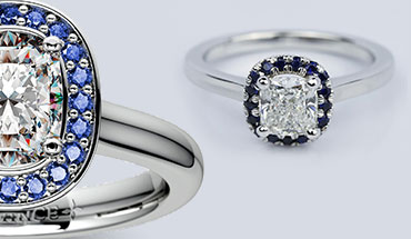 Sapphires As An Accent Stone