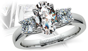 Oval Diamonds As a Symbol of Fertility