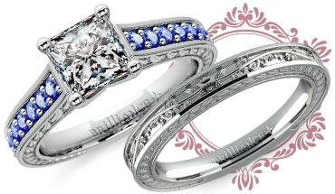 Antique Sapphire Gemstone Ring