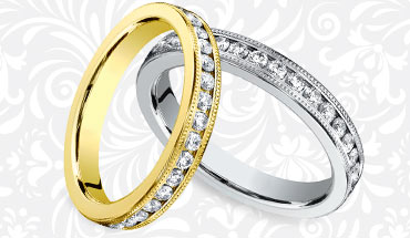 Vintage Eternity Ring for Her