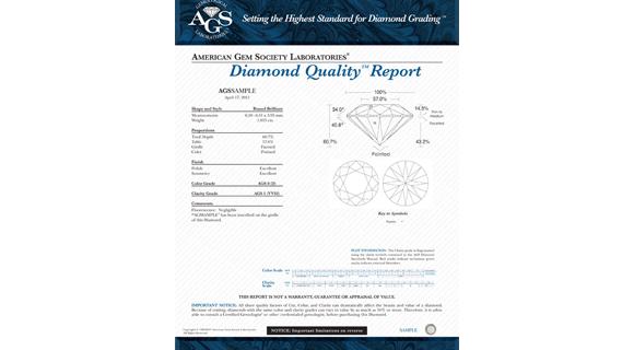 AGS Diamond Quality Document
