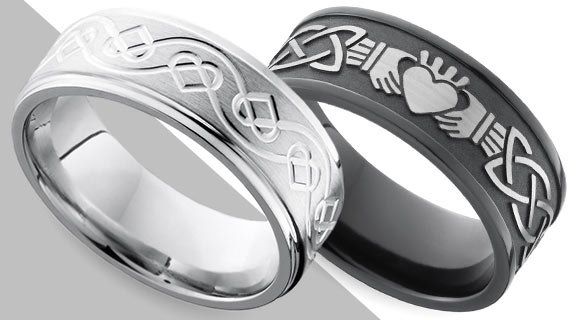 Ancient Symbols on Contemporary Rings
