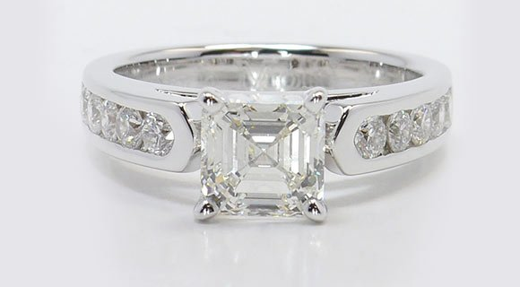 Image result for diamond Asscher
