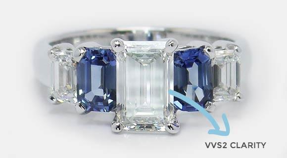 Clarity of an Emerald Diamond