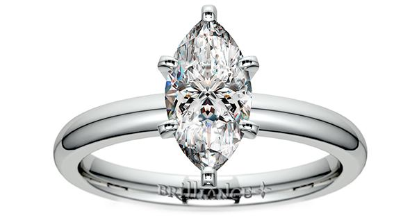 Classic Marquise Solitaire