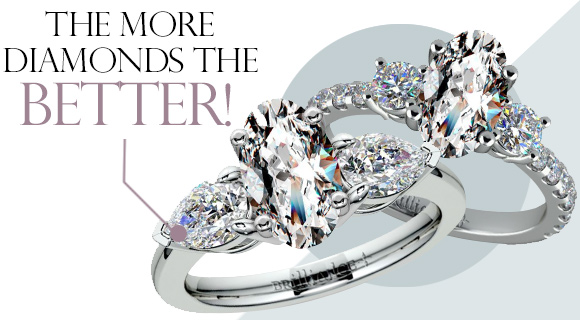 To Complement the Ring, Add More Diamonds!