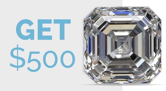 Diamond $10,000 or greater