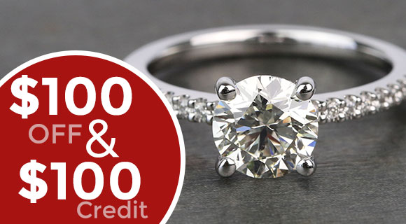 Diamond Engagement Ring ($2,500 or greater)