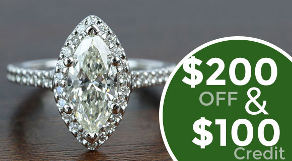 Diamond Engagement Ring ($5,000 or greater)
