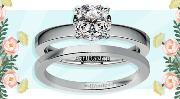 Diamond Set: Engagement Ring and Wedding Band Duos
