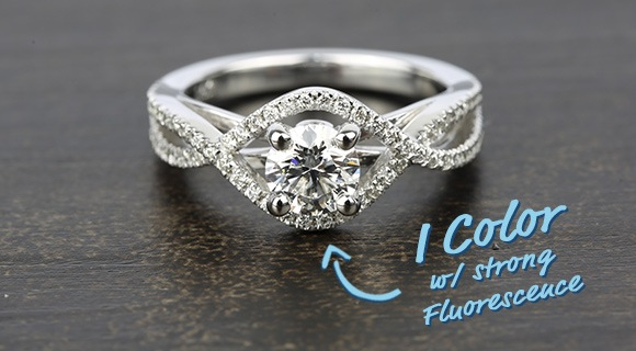 Does Diamond Fluorescence Affect Value?