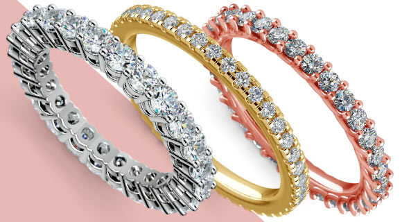 Eternity Bands to Express Eternal Love