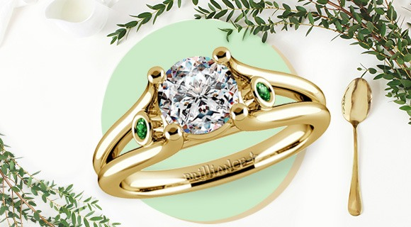 An Everlasting Love with Emeralds!