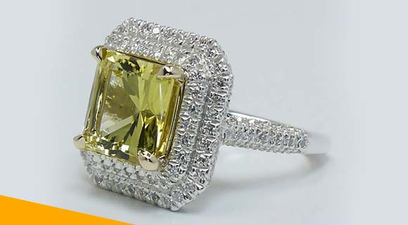 Fancy Colored Radiant Diamonds
