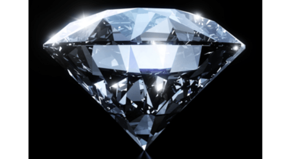 How is diamond fluorescence rated?