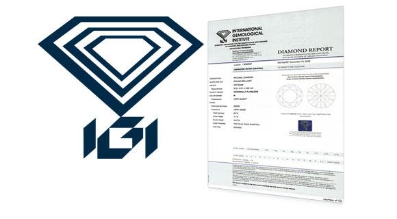 IGI Diamond Certification