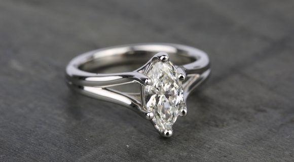 Marquise Diamonds in Platinum