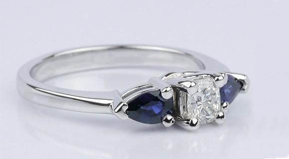 Modern Gemstone Rings: Sapphires