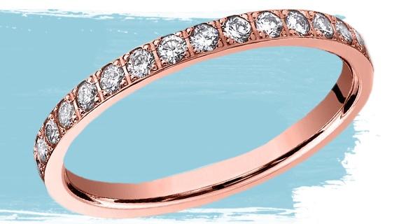 Pave Diamond Eternity Ring