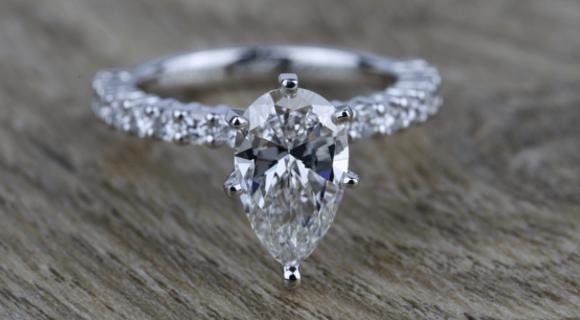 Pear Cut Diamond: A Little History